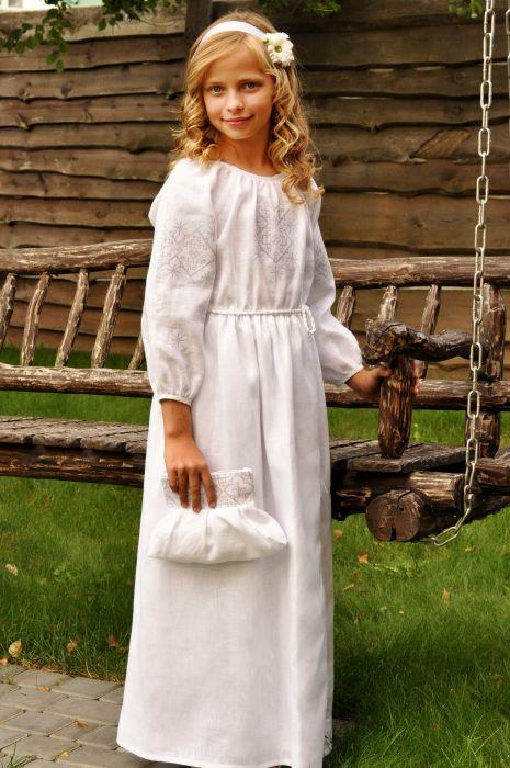 Платье детское для девочки ДП10-211